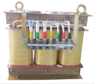 三相干式隔离变压器电气原理图